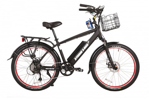 X-Treme Santa Cruz Electric Bike Beach Cruiser