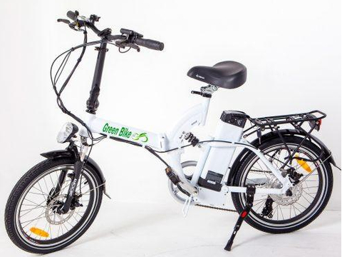 Green Bike USA GB500 48V Folding Electric Bike with Samsung Lithium Battery