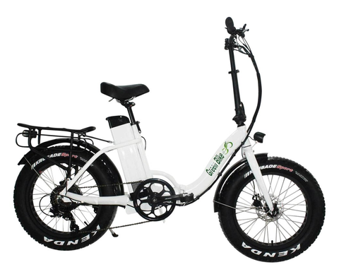 Green Bike USA GB750 Fat Tire Low Step Folding Electric Bike - Electro Pedal
