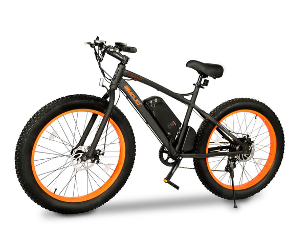 E-MOJO Wildcat Electric Mountain Bike - Electro Pedal