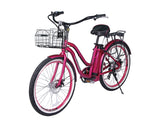 X-Treme Malibu Elite Beach Cruiser Electric Bike - Electro Pedal