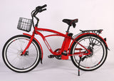X-Treme Newport Max Elite Beach Cruiser Electric Bike - Electro Pedal