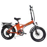 Green Bike USA GB1 Fat Tire 48V 500W Folding Electric Bike - Electro Pedal