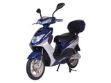 X-Treme XB-504 Electric Moped with Storage - Electro Pedal