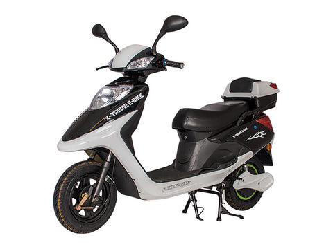 X-Treme Cabo Cruiser Elite - Long Range Electric Bicycle Moped with Storage