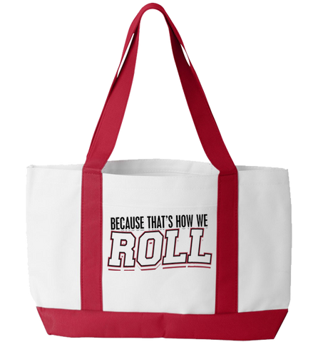 How I Roll Totebag