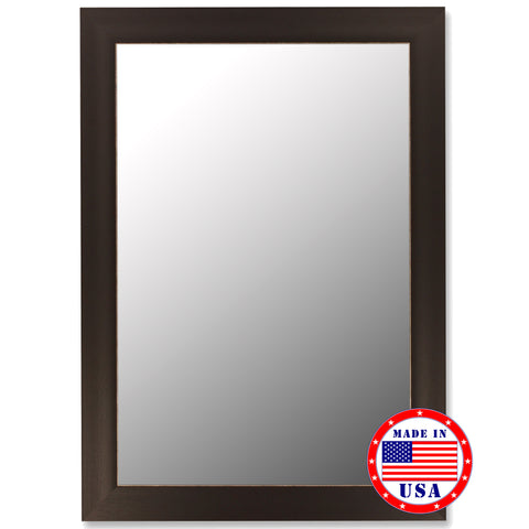 Espresso Framed Wall Mirror