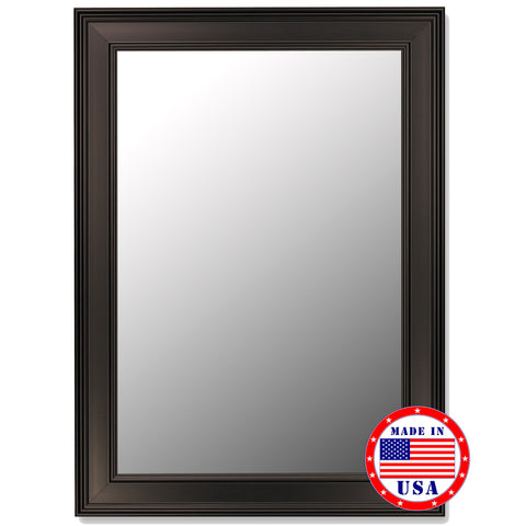 Ceylon Black Framed Wall Mirror