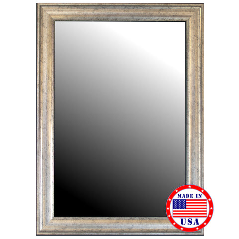 Inca Silver Framed Wall Mirror