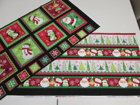 """Holly Jollies"" by Quilting Treasures"