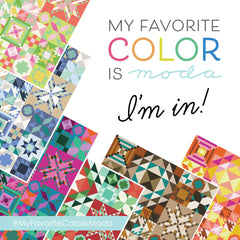 My Favorite Color is Moda Sew Along