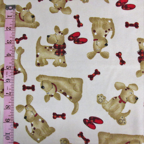 Comfy Flannel, Puppy Dogs (6153)
