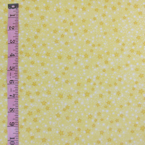 Comfy Flannel, Yellow Stars (6154)