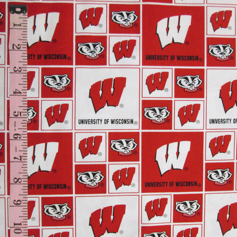 College Prints, UW-Madison Tiled (6413)