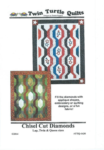 Chisel Cut Diamonds Pattern