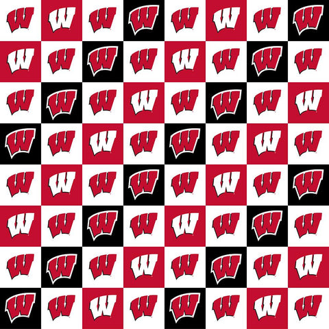 College Prints, UW-Madison Checkerboard (6755)