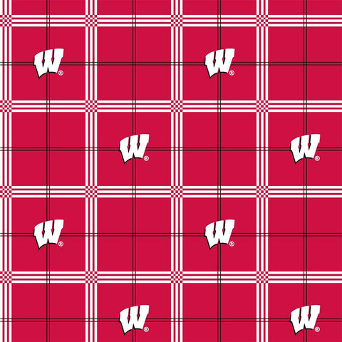 College Prints, UW-Madison Flannel (6708)