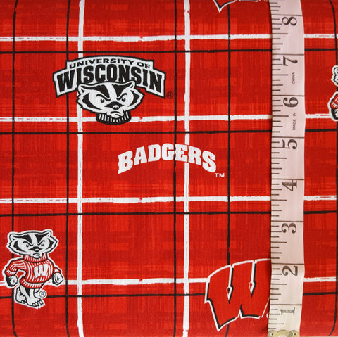College Prints, UW-Madison Plaid (6706)