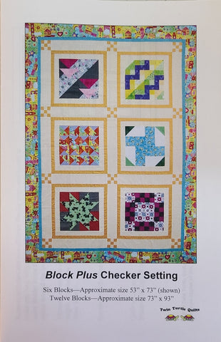 Block Plus, Checker Setting