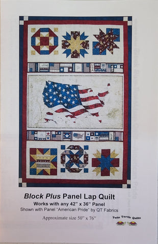 Block Plus, Panel Quilt Setting