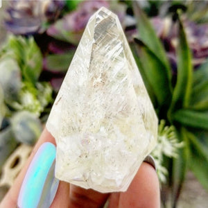 Calcite with Marcasite Points - 003