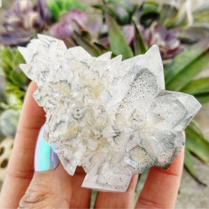Calcite Clusters with Marcasite - 003