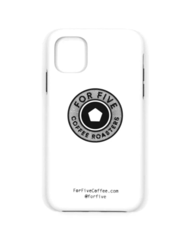 For Five White Token iPhone Case
