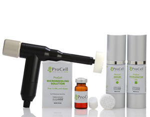 Livra microneedling stem cell therapy