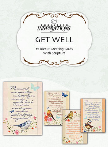 Wishing You Well - card box set with scripture