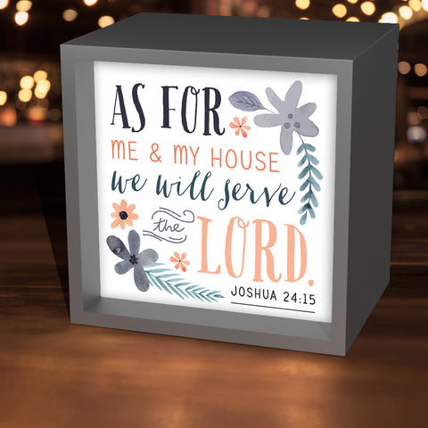 """As For Me & My House"" Lightbox"