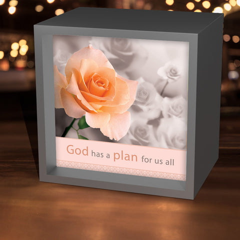 """God Has A Plan For Us All"" Lightbox"