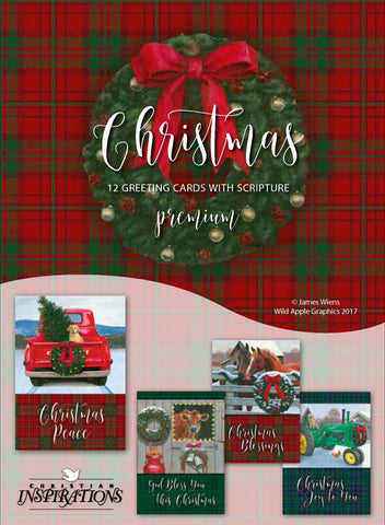 Christmas In The Heartland.Christmas In The Heartland Mixed Card Box Set With Scripture