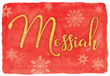 Messiah - Mixed card box set with scripture