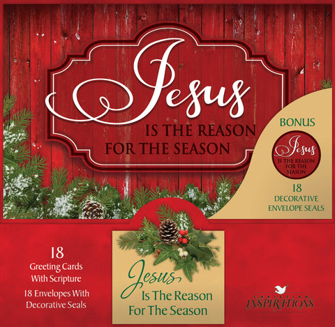 Jesus Is The Reason - card box set with scripture
