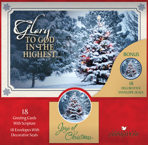 Joys of Christmas - card box set with scripture