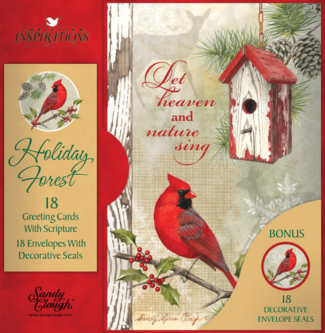 Holiday Forest - card box set with scripture