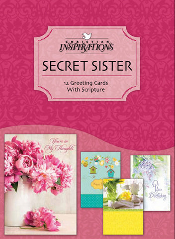 Secret Sister - card box set with scripture