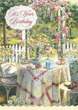 Time for Tea Birthday - card box set with scripture