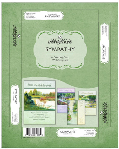 God's Promise Sympathy- card box set with scripture