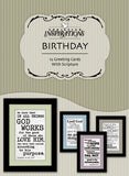 Good & Faithful Servant-boxed card set with scripture