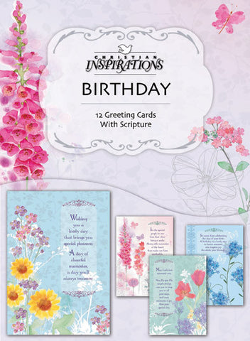 Floral Impressions boxed card set with scripture