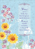 Floral Impressions - box card set with scripture