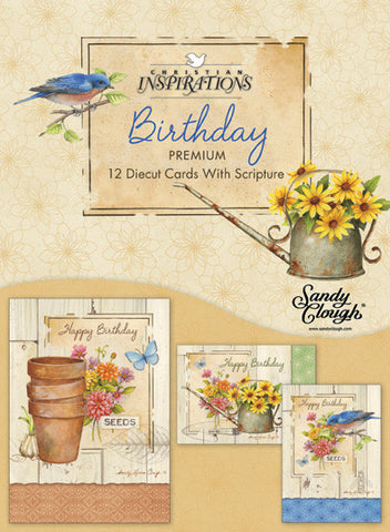 Rustic Garden boxed card set with scripture