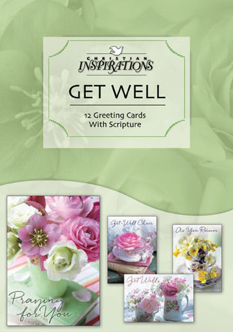 Teacup Wishes boxed card set with scripture