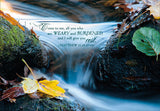 Waterscapes - get well - boxed card set with scripture