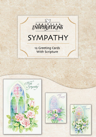 The Lord is my Shepherd sympathy boxed card set with scripture
