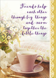 Coffee Time - box card set with scripture