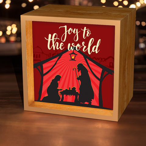"""Joy To The World"" Lightbox"