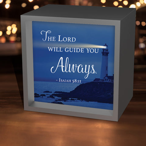 """The Lord Will Guide You"" Lightbox"