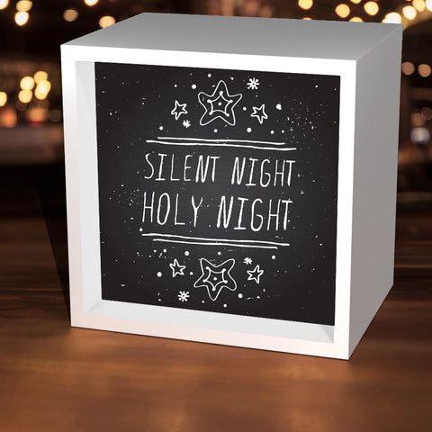 """Silent Night"" Lightbox"